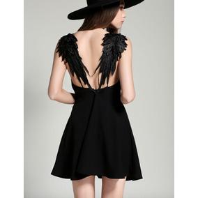 Vestido Casual Con Alas De Angel Envio Gratis