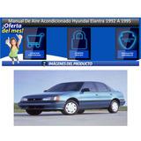 Manual De Aire Acondicionado Hyundai Elantra 1992 A 1995