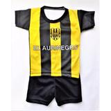 Conjunto Club Olimpo De Bahia Blanca Camiseta Bebe Futbol