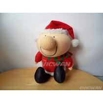 Muñeco De Peluche Ziggy Santa Claus 27 Cm Sugusa Mex Pce94