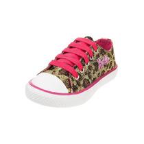 Zapatillas Leopardo Barbie Originales T 27a34 Piemonono!