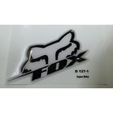 Adesivo Resinado Fox Racing Moto Capacete Motocross