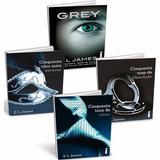 Kit Trilogia 50 Tons De Cinza + Gray - Completo - 4 Livros