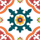 Adesivo Azulejo Decorativo Português- Ladrilho Hidráulico