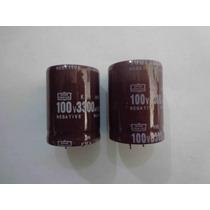 Capacitor 3300µf-100v Para Modular Sony Y Lg