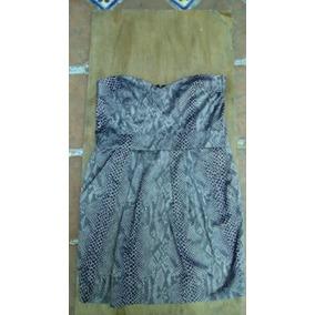 Hermoso Vestido Marca Shasa Talla M Animal Print