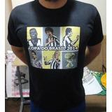 Camiseta Copa Do Brasil 2014 Galo Campeão