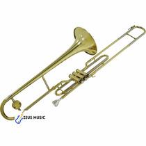 Trombone Shelter Sib Laqueado De Pisto C/ Estojo Novo