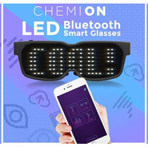 Lentes Led Chemion Bluetooth Mensajes, Imagenes Y Dibujos