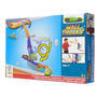Pista Acrobacia Autos Hot Wheels Pared Swing Arm Slide