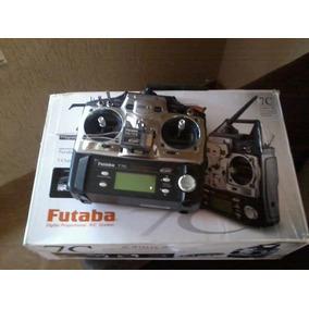 Radio Futaba 7c 2.4 Zerado Com Receptor Original
