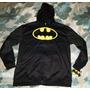 Batman Hoodie Casaca Talla Xl 18/20 Junior A Pedido Usa