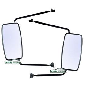 Kit Espelho Retrovisor Caminhao Mb 1113 1313 Convexo 2 Peças