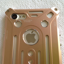 Estuche Iphone 7 Plus Cnc Aluminio Aerospacial Dorado Rosa