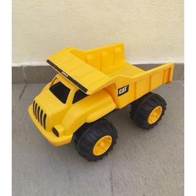 Camión Volteo Caterpillar De Plástico