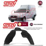 Parabarro Dianteiro Motorista Fiat Fiorino 04-13 Original