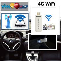Modem 4g Wifi Oi Tim Vivo Claro Carro Ônibus Van Taxi Uber