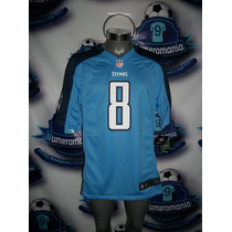 Jersey Oficial Nike Nfl Titans Tennessee Mariota #8