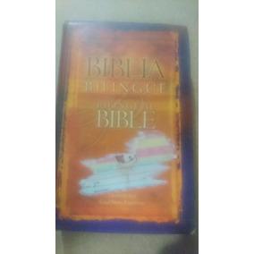 Biblia Bilingue Inglés Español