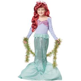 Disfraz Infantil De La Sirenita Trajes California-x-small