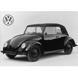 Quadro 20x30 - Vw Fusca Cabriolet 1937 - Novo !!! Okm !!!
