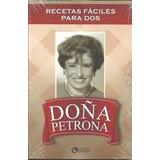 Libro Recetas Faciles Para Dos Doña Petrona Cocina Recetas