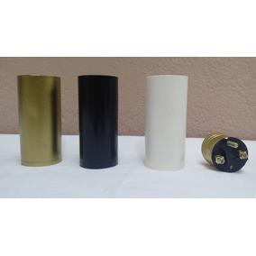 Soquete Bocal Vela Liso E27, E-27 Varias Cores