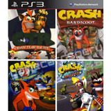 Crash Ps3 Combo 4 En 1 Juegos Digitales