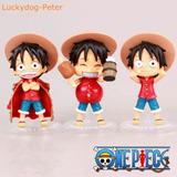 One Piece Luffy Figura Gashapon De Coleccion - Importado