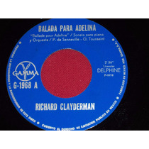 Richard Clayderman Ep 7´ 45 Rpm Balada Para Adelina