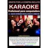 Karaoke Profesional 3000 Temas + Micrófono Alambrico