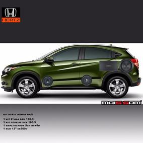 Kit Som Hertz 5.1 Honda Hr-v Completo - Hcp 5d Dsk 165.3 Sub