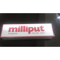 Plastilina Epoxica Milliput Standard Color Gris, Amarillo