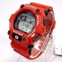 Relógio Casio G-shock G-7900a-4dr Vermelho Grafico Mare/lua
