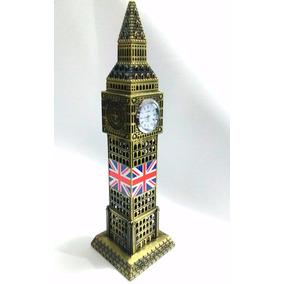 Grande Big Ben Londres Reloj Real Metal 31cm Envío Gratis
