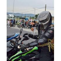 Casco Depredador Para Motociclista, Certificado-envio Gratis