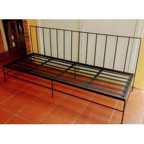Sillon camastro hierro hogar muebles y jard n en for Camastros de hierro para jardin