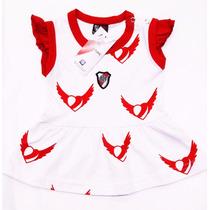 Vestido River Plate Oficial Body Bebas Camiseta Y Boca Bebe