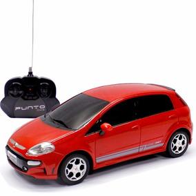 Carro Controle Remoto Fiat Punto T-jet 1:18 Cks Toys
