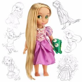 Rapunzel Muñeca Animators De Coleccion Disney Store Original