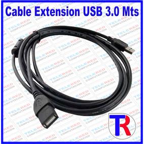 Cable Extension Usb Macho Hembra 3.0 Mts Con Filtro Oferta !