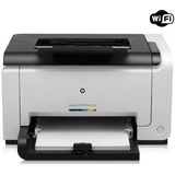 Impresora Hp Laser Color Cp1025nw 1025nw Red Wifi Usb Eprint