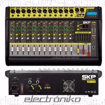 Consola Mixer Potenciada Skp Vz 120 Il