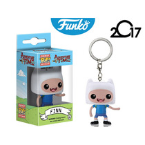 Llavero Finn Funko Pop Hora De Aventura Caricatura Keychain