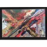Cuadro Pintura Abstracta 85 Cm X 55 Cm