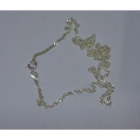 Cordão Gargantilha Prata 925 De 40cm