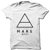Camiseta 30 Seconds To Mars Camisa Masculina Lançamento