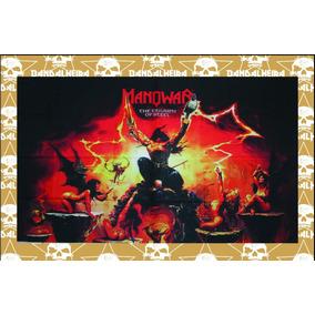 Bandeira - Faixa Bandas Rock Manowar Ban130