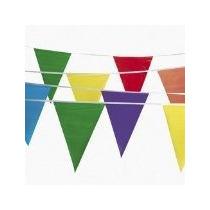 300 Pie Multicolor Banderín Banner