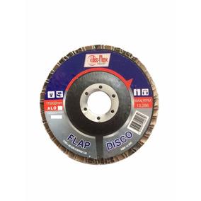 Disco De Lixa Flap 4.1/2 Grão 80 P/ Lixadeira Disflex